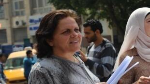 رئيسة اتحاد لجان المرأة الفلسطينية ختام سعافين