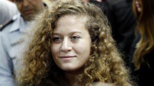 الفتاة الفلسطينية عهد التميمي