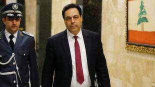 رئيس الحكومة اللبنانية حسان دياب