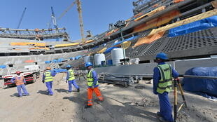 ouvriers chantiers qatar