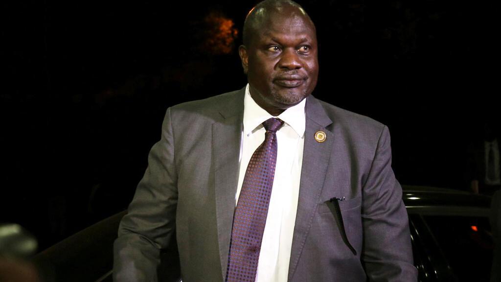 زعيم المتمردين في حكومة جنوب السودان ريك مشار