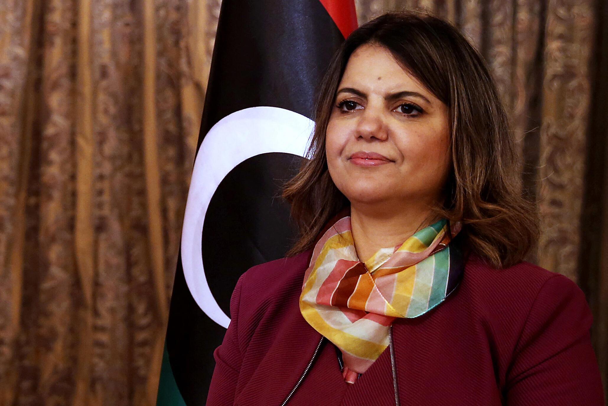 najla al mankouch libye