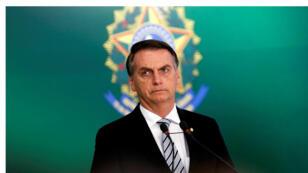 الرئيس البرازيلي جاير بولسونارو