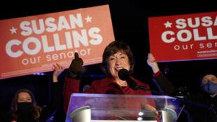عضوة مجلس الشيوخ عن الحزب الجمهوري سوزان كولينز