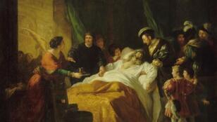 La mort de Léonard de Vinci - Château d'Amboise