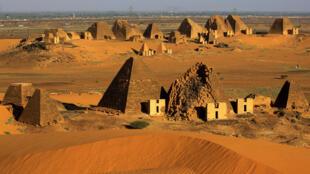 أهرامات مروي في السودان