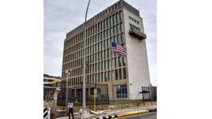 سفارة الولايات المتحدة، هافانا، كوبا (29-09-2017)
