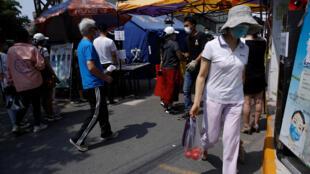 فيروس كورونا في بكين