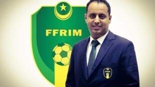 رئيس الاتحاد الموريتاني لكرة القدم أحمد ولد يحيى
