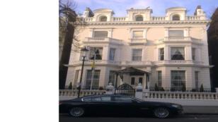 سفارة أوكرانيا في لندن