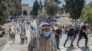 في مدينة القدس