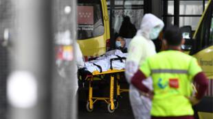 قسم الإسعاف في مستشفى لاباز في مدريد، إسبانيا