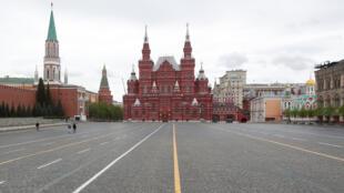 موسكو خلال العزل التام