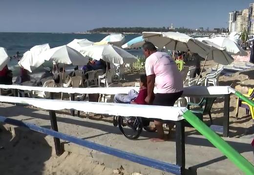 شواطئ لذوي الاحتياجات الخاصة في مصر