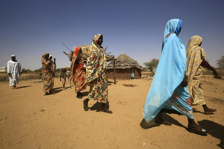 نساء من دارفور