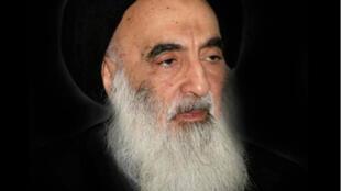 المرجع الديني الشيعي الأعلى في العراق آية الله السيد علي السيستاني-