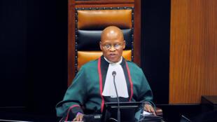 Le juge Mogoeng Mogoeng