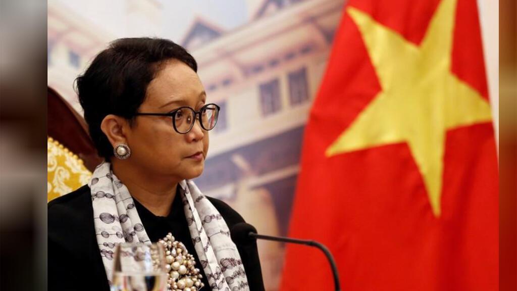 وزيرة الخارجية الإندونيسية ريتنو مرسودي
