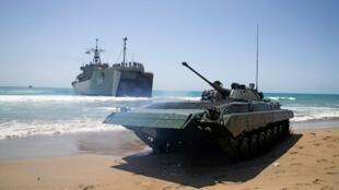 جيش على شواطئ بحرية (صورة تعبيرية)