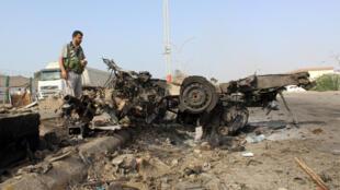 عملية انتحارية في عدن، اليمن 26-03-2016