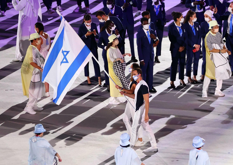 الوفد الإسرائيلي المشارك بالألعاب الأولمبية في طوكيو