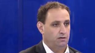 أكرم حسو رئيس المجلس التنفيذي في مقاطعة الجزيرة شمال شرق سوريا