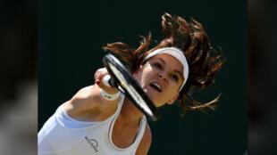لاعبة التنس البولندية أجنيشكا رادفانسكا