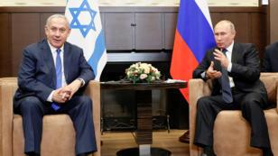 نتانياهو يلتقي بوتين