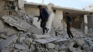 آثار الدمار في سوريا