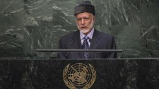 الوزير المسؤول عن الشؤون الخارجية يوسف بن علوي بن عبد الله
