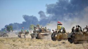 قوات عراقية عاى مشارف الحويجة