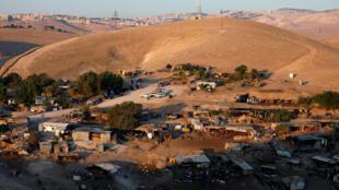 قرية خان الأحمر التي تعتزم إسرائيل هدمها في الضفة الغربية المحتلة