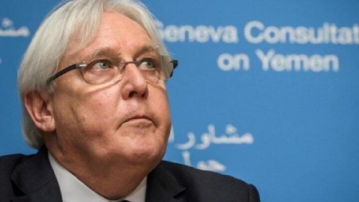مبعوث الأمم المتحدة إلى اليمن مارتن غريفيت