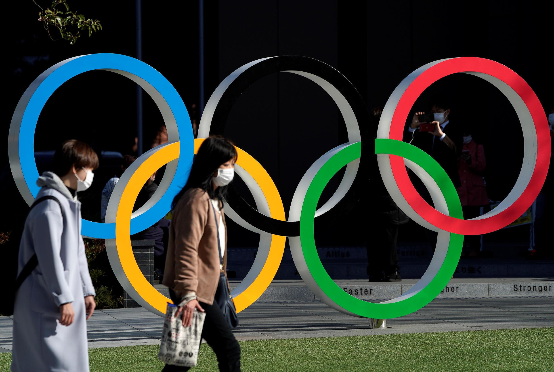 شعار الآلعاب الأولمبية في طوكيو