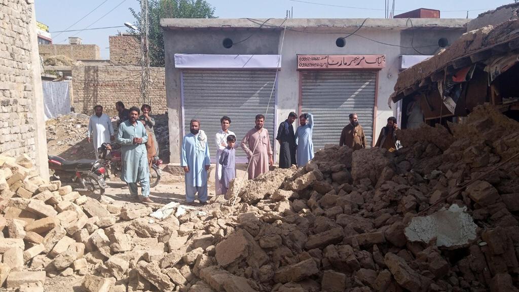 زلزال في إقليم بلوشستان في جنوب باكستان