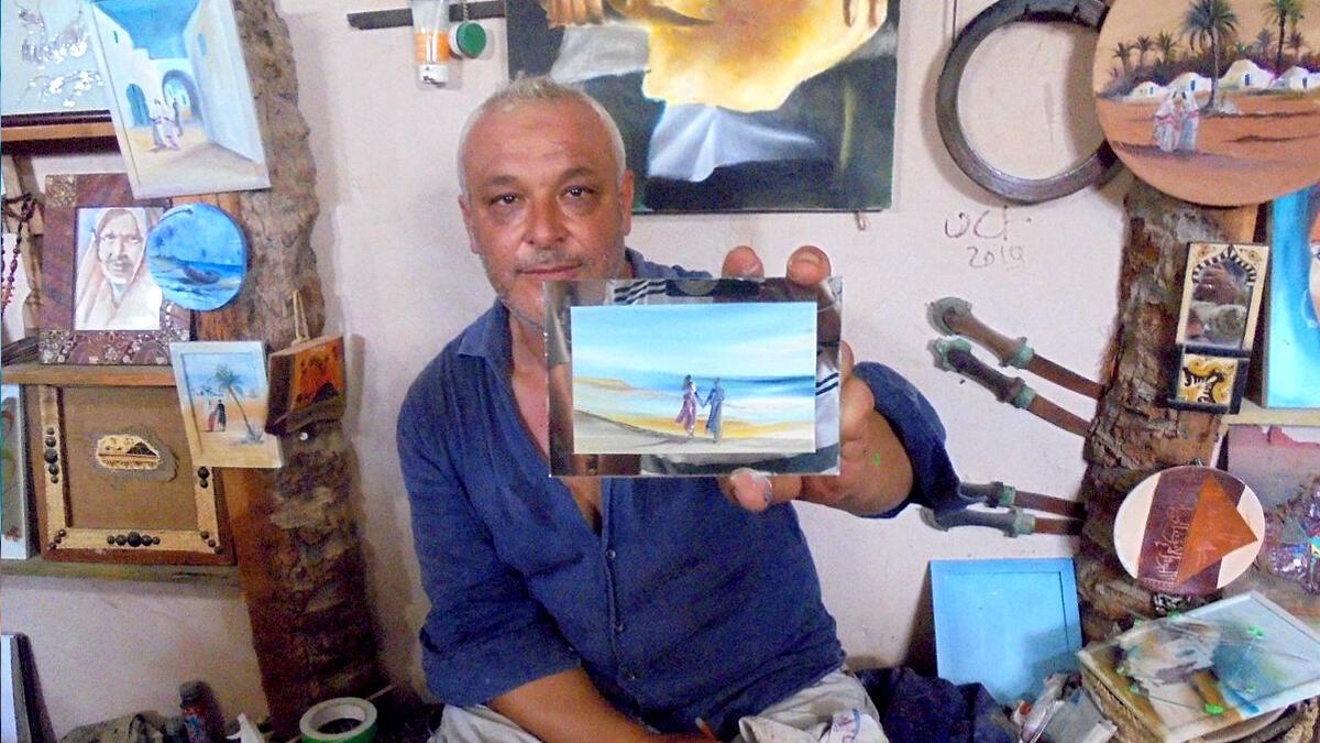 دار جيلاني في جزيرة جربة التونسية