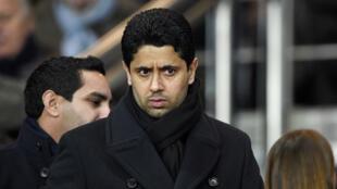 ناصر الخليفي رئيس نادي باريس سان جرمان
