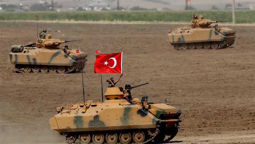 الجيش التركي في سوريا