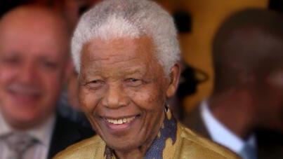 الزعيم الجنوب إفريقي الراحل نلسون مانديلا