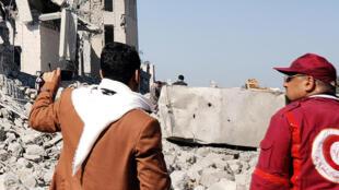 Croissant-Rouge-_-arabie-Saoudite_-centre-de-détention-houth_-Dhamar_yemen_reuters