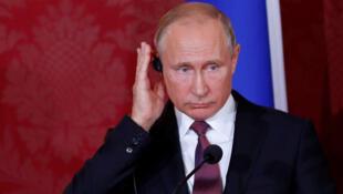 / الرئيس الروسي فلاديمير بوتين