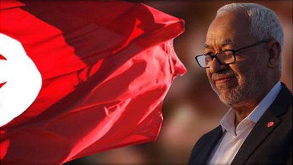 """زعيم """" حركة النهضة"""" التونسية راشد الغنوشي"""