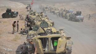 قوات من الجيش العراقي والحشد الشعبي
