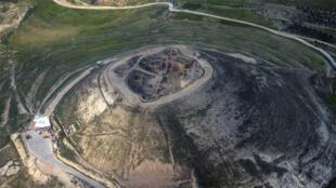 قلعة هيروديوم التي أقامها هيرودس الأول