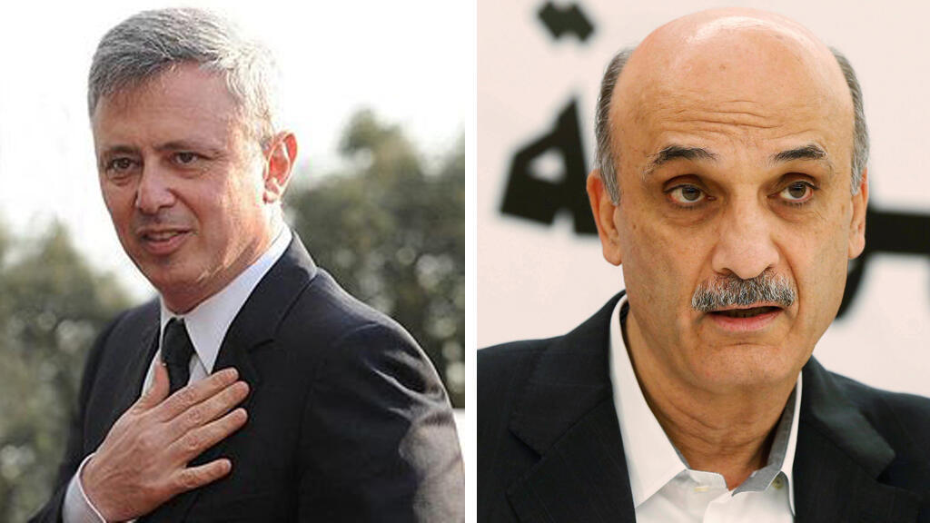 سليمان فرنجية و سمير جعجع