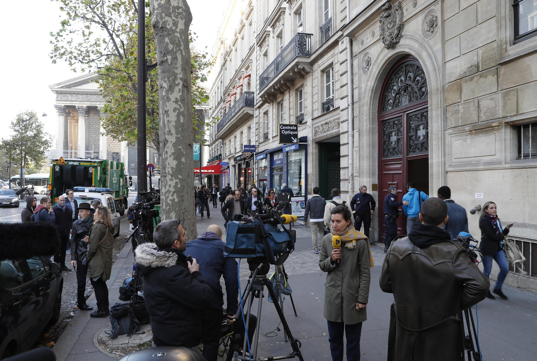 مقر إقامة كيم كاردشيان في باريس عام 2016