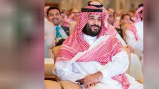 ولي العهد السعودي الأمير محمد بن سلمان خلال مؤتمر الاستثمار السعودي بالرياض
