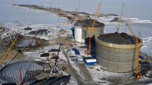 مشروع الغاز المسال في القطب الشمالي