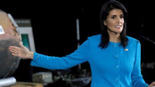 السفيرة الأمريكية لدى الأمم المتحدة نيكي هايلي