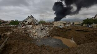 مخلفات الصراع بين أرمينيا وأذربيجان